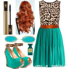 Featuring Rox Ee - Aqual Leopard Luichiny - but with brown hair :)