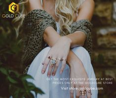 GoldCube store has the most exquisite collection of jewelry that you always desire. Explore our newest collection today at store.goldcube.com #buyjewelry #jewelry Silver Bracelets, Silver Jewelry, Gold Necklace, Cube Store, Valley Fair, Gold And Silver Rings, Gold Coins, Precious Metals, Jewelry Stores