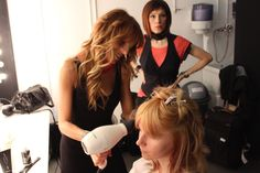 FW Collection 13/14 - Specular by Italian Style Framesi - Backstage