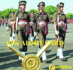 Students who applied for CDS II 2015 exam going to held on 1st November, they can download their CDS 2 Admit card 2015 from upsc.gov.in.