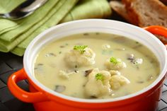 Zupa kalafiorowa po belwedersku Souped Up, Cheeseburger Chowder, Food And Drink, Cooking, Ethnic Recipes, Foods, Diet, Kitchens, Food And Drinks