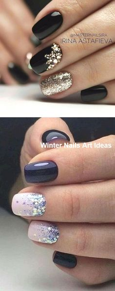 32 Great Ideas Nail Art Design for Wintry Mood nailart winternails Hard Nails, Thin Nails, Simple Nail Art Designs, Best Nail Art Designs, Winter Nail Art, Winter Nails, Nail Ideas For Winter, Cute Nails, Pretty Nails