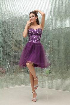 Elegant Sweetheart Beaded Bodice Natural Waist Tulle Skirt Prom Dress,US$138.98   Read More:     http://www.weddingscasual.com/index.php?r=elegant-sweetheart-beaded-bodice-natural-waist-tulle-skirt-prom-dress-elgeno.html
