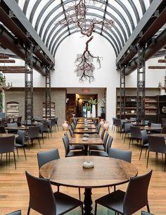Elizabeth Falkner's refined Italian fare makes up the menu at the Manhattan restaurant Corvo Bianco.