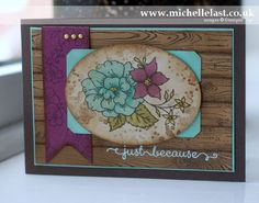 Stamping&Blogging sketch challenge using new Blendabilities from Stampin' Up! - with Michelle Last