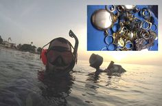 Underwater Metal Detecting Makes Every Dive a Treasure Hunt