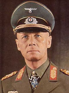 Erwin Rommel. Although he was on the wrong side I respect the facts that he refused to murder innocent Jewish people and that he was planning to Slaughter Hitler