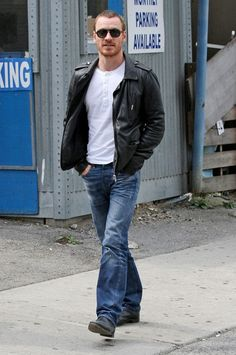 Michael Fassbender - Michael Fassbender and Zoe Kravitz Out for Lunch