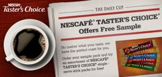 FREE Nescafe Taster's Choice Instant Coffee Sample Pack