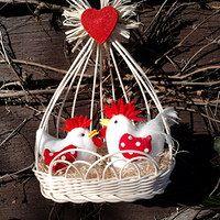 Jute Crafts, Crafts To Do, Felt Crafts, Easter Crafts, Christmas Crafts For Kids, Christmas Ornaments, Pressed Flower Art, Easter Crochet, Egg Decorating