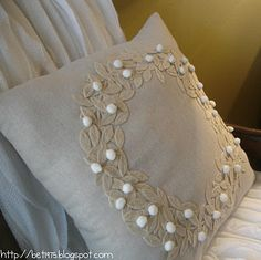 Pottery Barn pillow knock-off