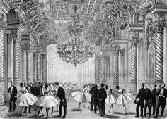 The New Paris Opera House - Le Foyer De La Danse 1875 January 23 The Illustrared sporting and dramatic news