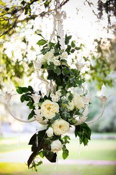 Southern Charm / karen cox. Elegant Southern Inspiration Ivy-Rose-Chandelier