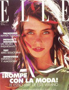 Roberta Chirko -  Elle Spain Aug 1987