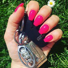 Pink nails ☺️ Nehtomania - gel Rome 👍🏻💅🏻