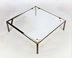 stainless steel coffee table ''Thing''      space-loft.com