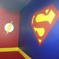 Boys Bedroom Ideas Superhero hulk wall mural for superhero fans! | boy bedroom ideas