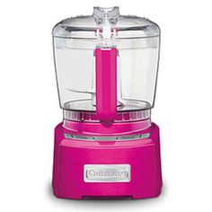 Elite Collection™ 4-cup Chopper/Grinder - Pink- I need a new Food Processor and this one is cutE!!