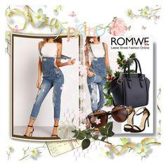 """""""ROMWE 10"""" by danijela-3 ❤ liked on Polyvore featuring Moleskine and romwe"""