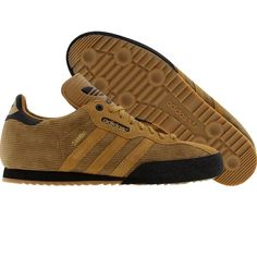 Samba Supers in golden brown cord - cool Adidas Samba, Samba Shoes, Sneakers Sketch, Cool Trainers, Sergio Tacchini, Football Casuals, Adidas Retro, Classic Sneakers, Adidas Shoes