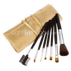 Make Up Kit Set Pen escova cosmético Eyeshadow pestana Ferramenta Lipstick Eyeliner - USD $4.99