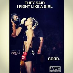 Ronda Rousey.... good things for womens MMA. Our whole staff team was at UFC 157 and this was really an amazing event