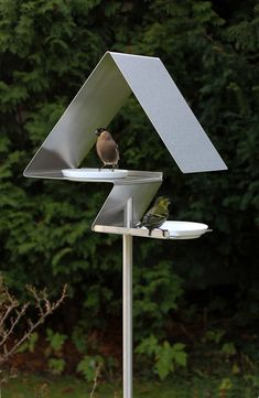 Birdhouses and Bird Baths from OPOSSUM design