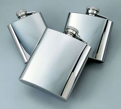 Personalized Stainless 4 Oz. Flask | Absolutely Specialities