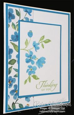 Thinking of You card by Robin Messenheimer
