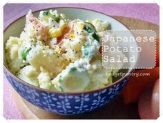 Sept 30- Japanese Potato Salad