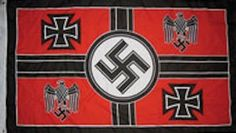 Germany WWII Flag - hdqtrs by sportsworld. $4.12. poly 3 x 5 premium flag. ships in one day. Heavy Duty material. Brass Grommets. Double stitched edges. Germany WWII Flag .. Command Hdqrs.