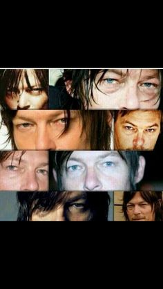 Norman's eyes
