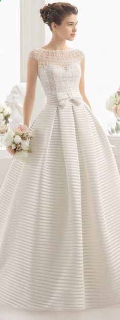 Wedding Dresses By Aire Barcelona 2017 Bridal Collection Wedding Dress by Aire Barcelona 2017 Bridal Collection Lace Wedding Dress, Best Wedding Dresses, Bridal Dresses, Lace Dress, Prom Dresses, Lace Bodice, Dress Prom, Wedding Dress Patterns, Bridal Lace