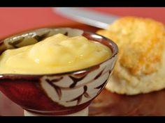 Lemon Curd Recipe Demonstration