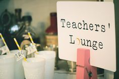 Teacher/ School birthday theme