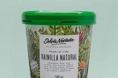 We Love This Botanical Inspired Ice Cream — The Dieline - Branding & Packaging Design