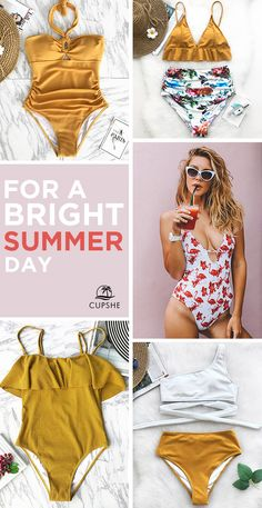 Summer is here, are you ready?! Find a beach and rewind, Ladies! Reward yourself with a relaxed beach trip and fabulous swimwear. Free Shipping & Shop Now!