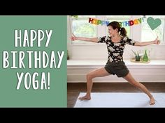 WELCOME to Yoga With Adriene! Our mission is to connect as many people as possible through high-quality free yoga videos. Happy Birthday Yoga, Today Is Your Birthday, Yoga For You, My Yoga, Phil Heath, Rainy Day Workouts, Yoga Workouts, Exercises, Fitness Man