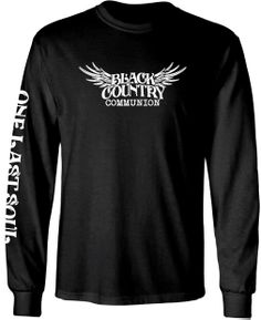 5cc1a5566d267c BCC® Long Sleeve Logo Black Shirt Joe Bonamassa, British Rock, Communion,  Rock. Joe Bonamassa Official Store