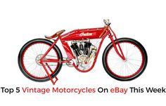 Top 5 Vintage Motorcycles On eBay This Week | eBay