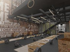 Home Gym - Crossfit DLX on Behance - http://amzn.to/2fSI5XT