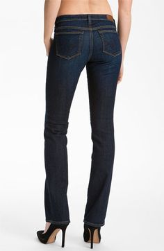 AG Jeans Slim Bootcut Jeans (Hope) available at #Nordstrom---good butt jeans lol