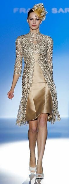 Franc Sarabia 2014 This look wold be perfect for a wedding, especially a fashionable mother of the bride