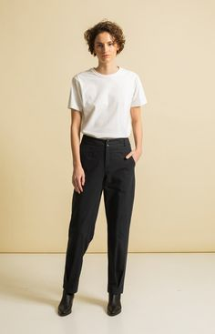 95650ded80 Sustainable Fashion, Organic Cotton, Normcore, Trousers, Pants, Trouser  Pants