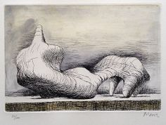Henry Moore Reclining Figure, Point (1976)