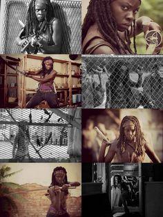 Danai Gurira aka Michonne from The Walking Dead tv show