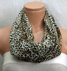 Leopard Scarf Winsomescarves $9.00
