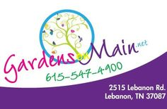 Gardens on Main in Lebanon, TX will have Pure Elements for their customers!