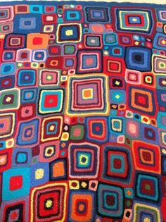 Crochet Babette blanket - first large project!