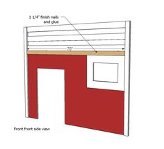 How to build a fire truck loft bed. Free step by step plans to build a fire engine loft bed. Bookshelf Plans, Desk Plans, Ana White, Oaks Room, Fire Truck Bedroom, Kids Bed Design, High Sleeper Bed, Loft Bed Plans, Truck Room